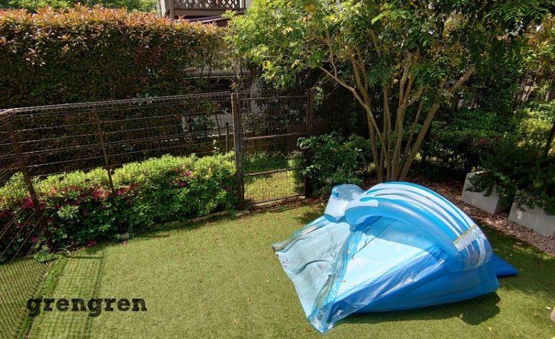 子供のためのガーデンリフォーム工事