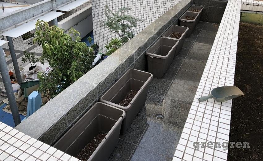 カスケードの滝を利用した植物の使い方