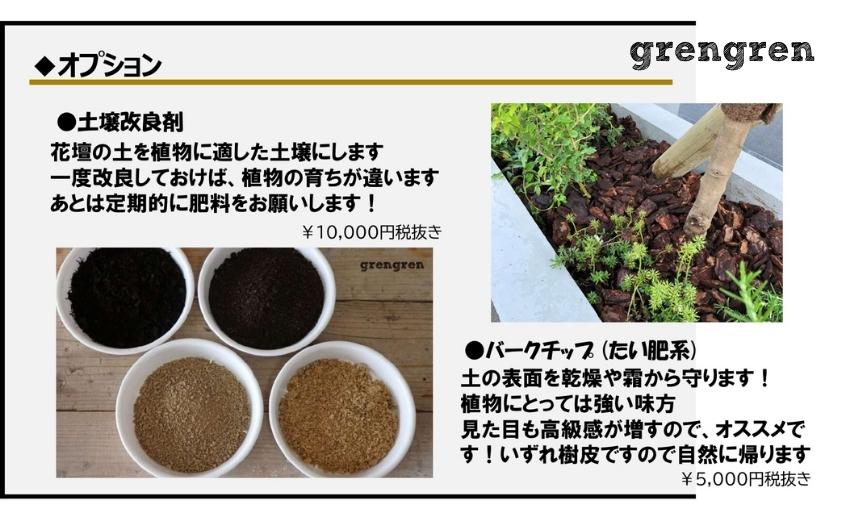 狛江市の新築住宅のための土壌改良のオプションプラン