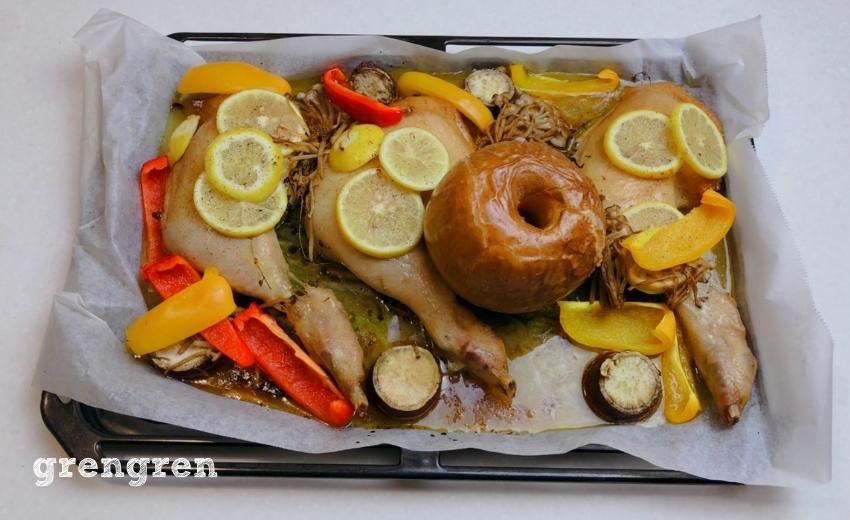 造園会社ぐりんぐりんが提案する幸せクリスマスレシピの焼きあがりの姿