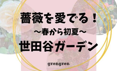 四季咲きのローズガーデンの庭づくり春~初夏