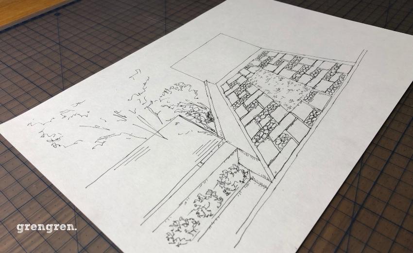 新しい生活を提案する町田市の和モダンのお庭づくり
