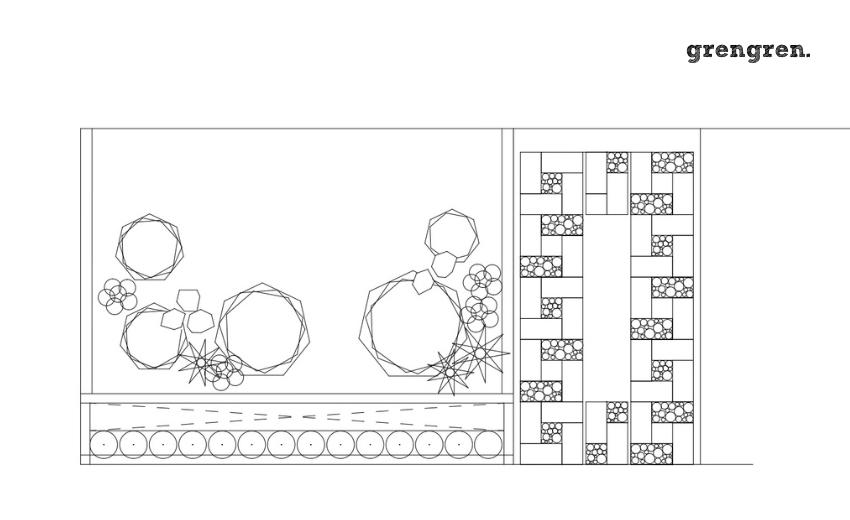 お庭と駐車場のプランを考えるための図面作成