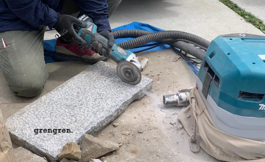石材をカットする方法の説明と意味、そして種類
